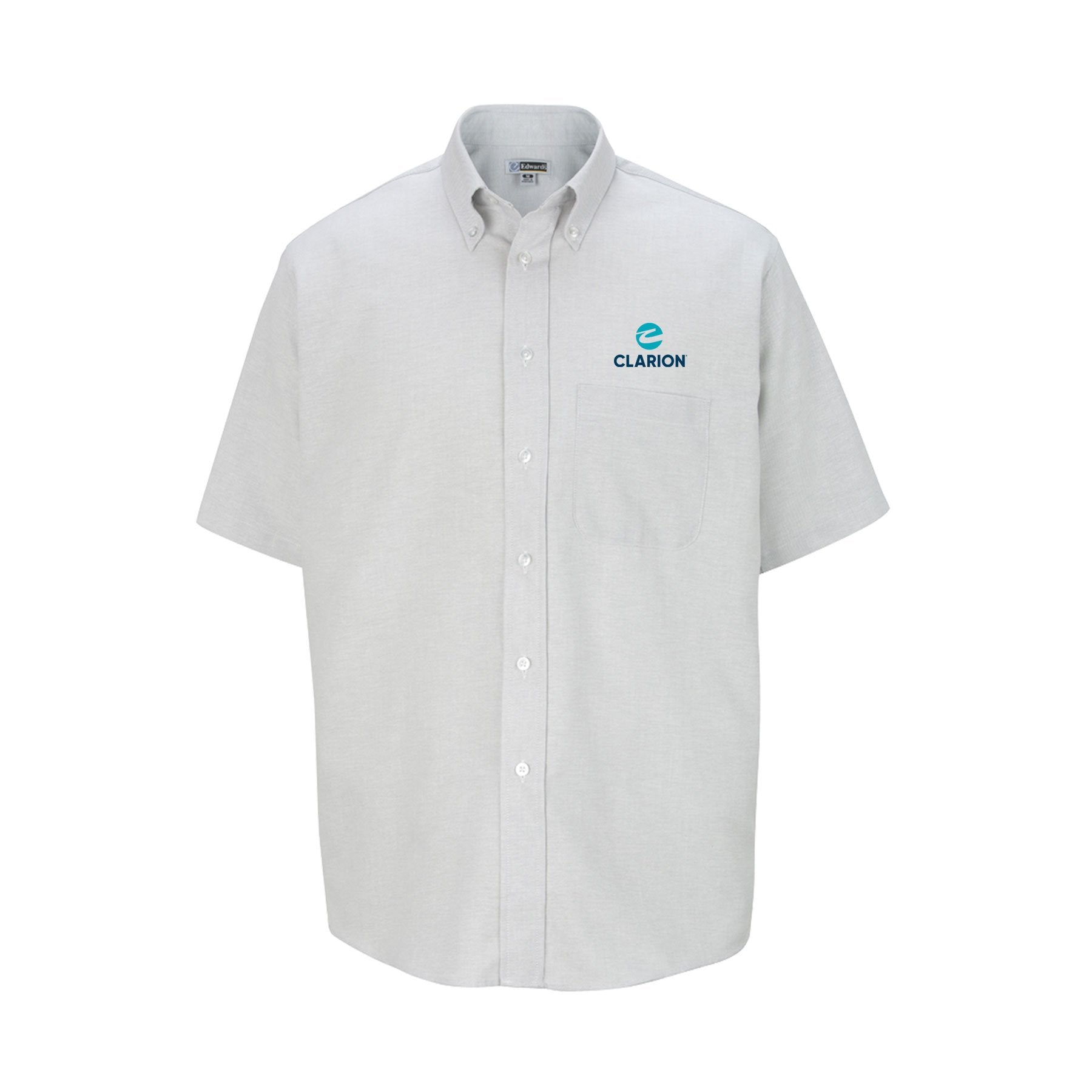 Men's Short Sleeve Easy-Care Oxford - Clarion