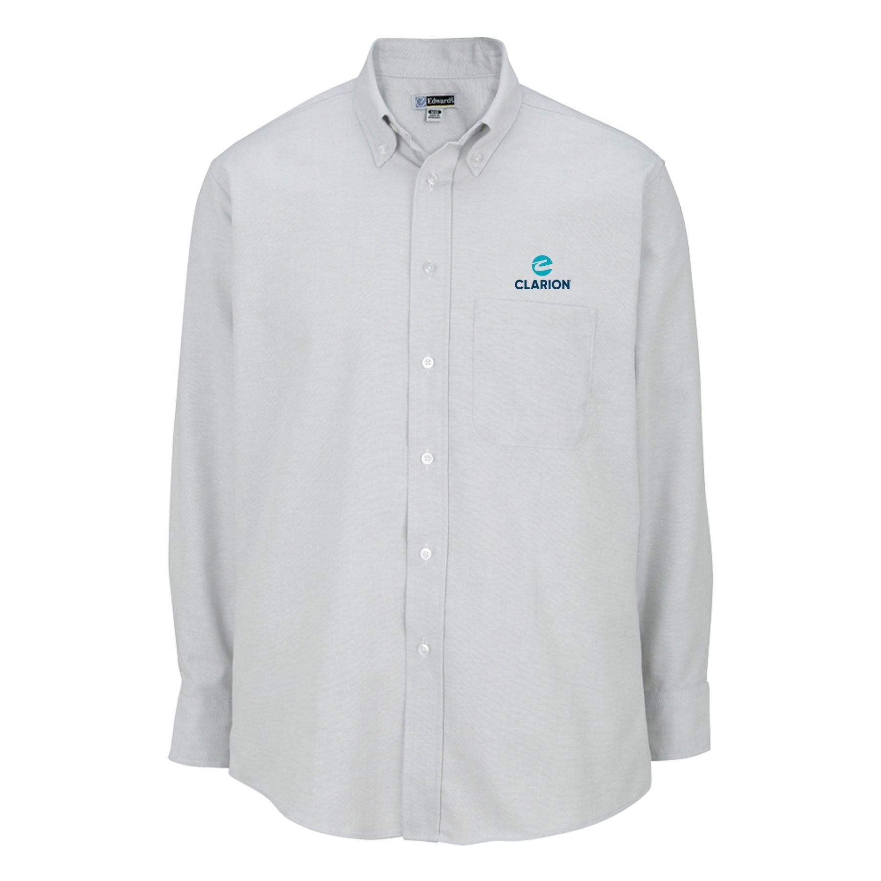 Men's Long Sleeve  Easy-Care Oxford - Clarion