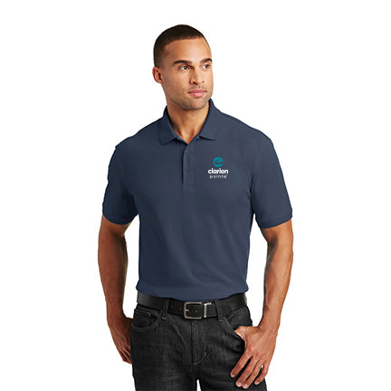 Men's Classic Core Polo - Tall- Clarion Pointe