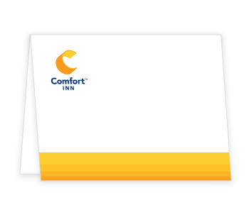 Comfort Brand Personalized Note Card
