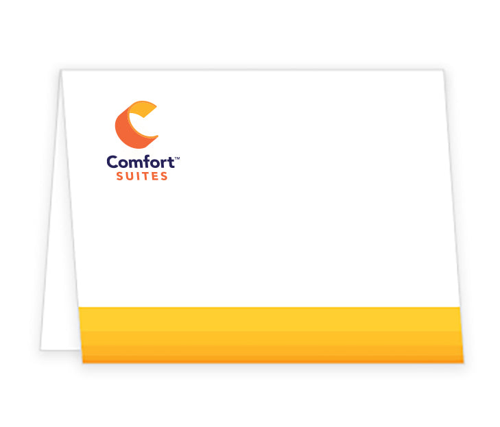 Comfort Suites Brand Personalized Note Card