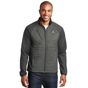 Men's Hybrid Soft-Shell Jacket - Comfort Inn
