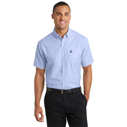 Men's Short Sleeve Super Pro Oxford -  Comfort Suites