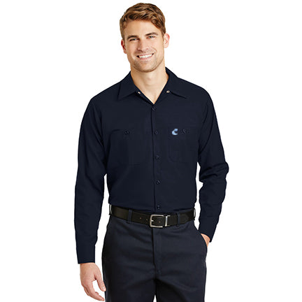 Industrial Work Shirt- Long Sleeves - Comfort Inn
