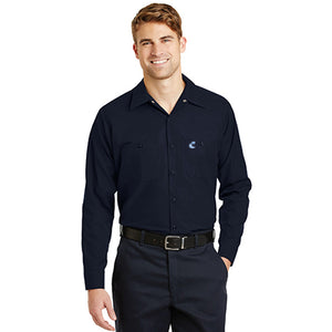 Industrial Work Shirt- Long Sleeves - Comfort
