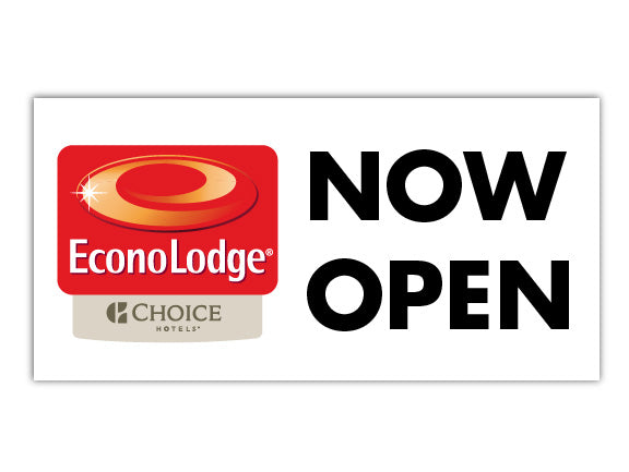 Custom Banner - Econo Lodge