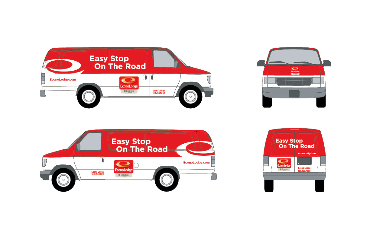 Vehicle Wrap - EconoLodge