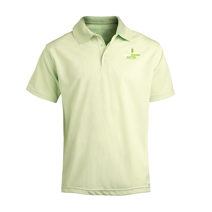 Men's Performance Mesh Polo - WoodSpring Suites