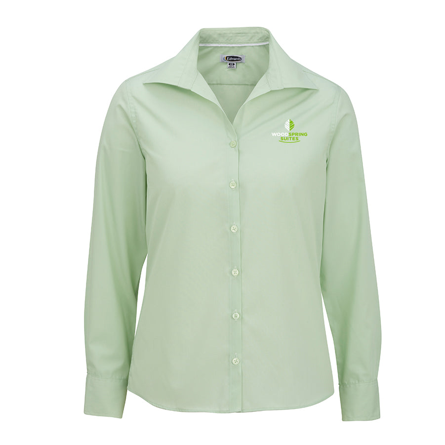 Women's Poplin Blouse - WoodSpring Suites
