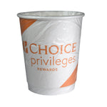 Choice Privileges Double-Wall Cup - Wrapped - For Guest Room Use