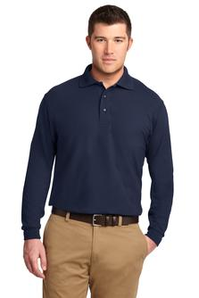 Men's Silk Touch Long Sleeve Polo - Rodeway