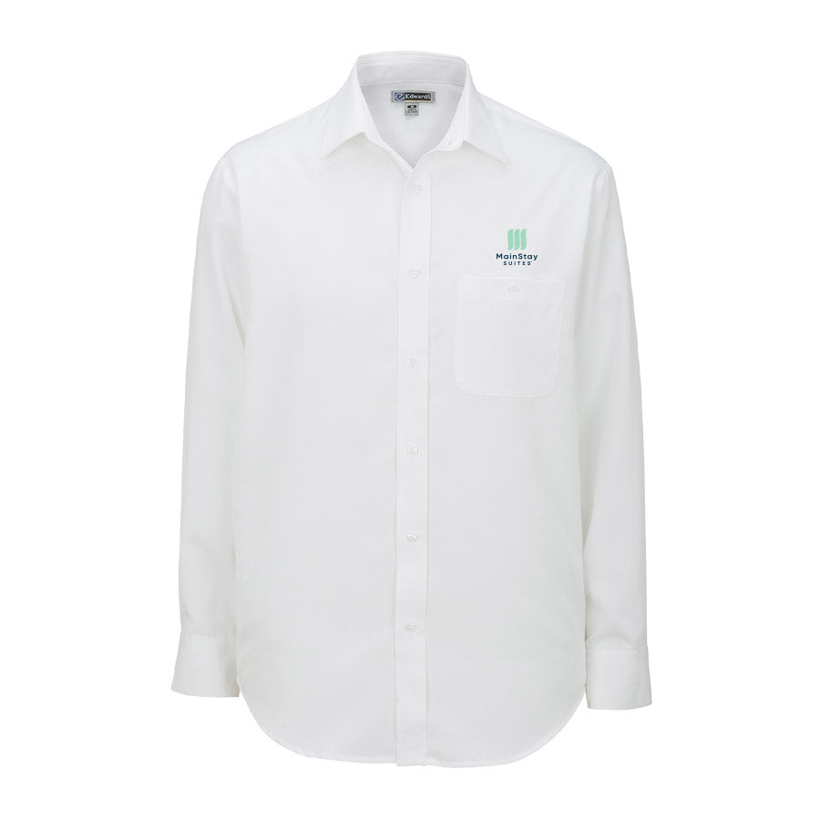 Men's Batiste Dress Shirt - MainStay