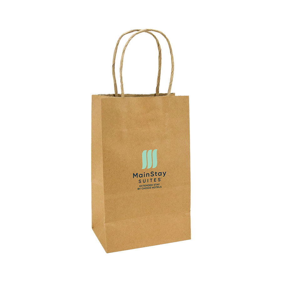MainStay Suites Branded Kraft Gift Bag