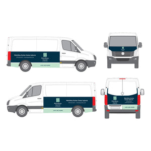 Vehicle Wrap - MainStay Suites