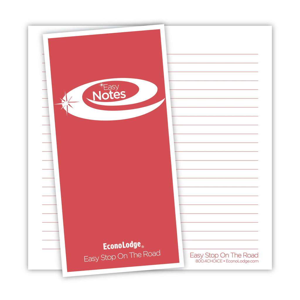 Econo Lodge Note Card