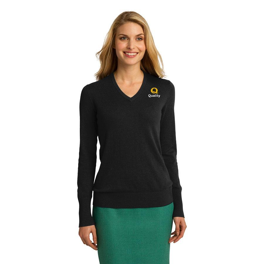Women's V-Neck Sweater - Quality