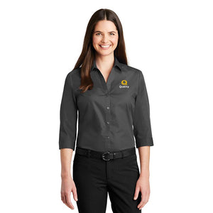 Women's 3/4-Sleeve Carefree Poplin Shirt - Quality