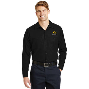 Men's Long Sleeve Industrial Work Shirt - Quality