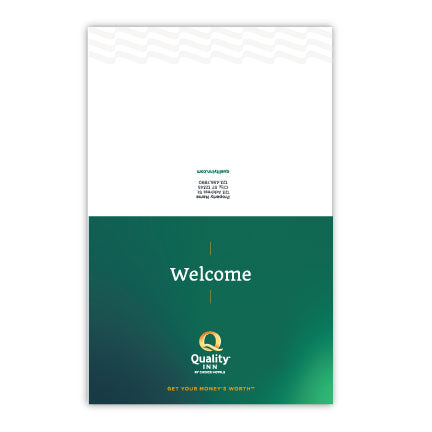 Quality Custom Folded Note Card