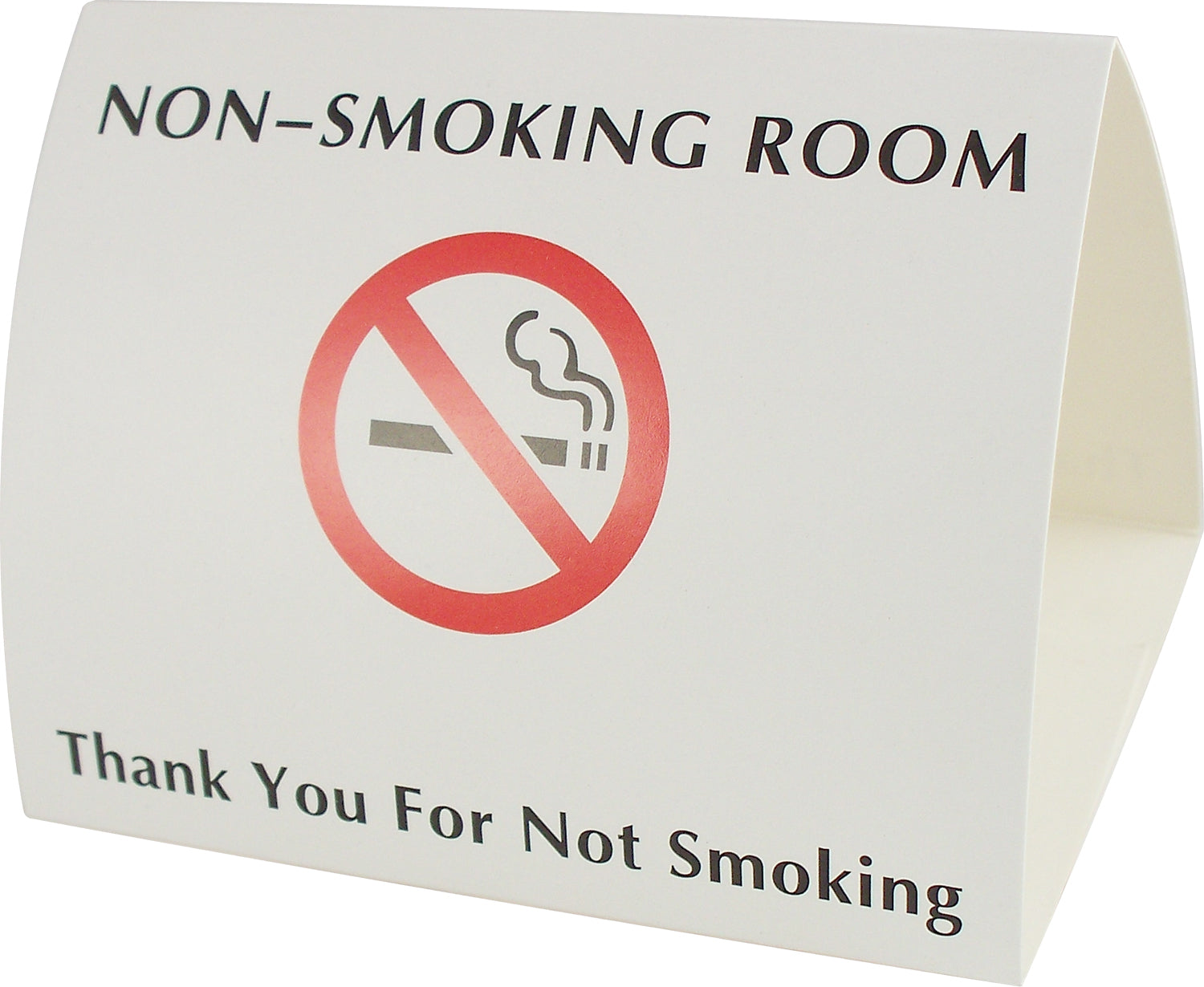 No Smoking - Paper Tent