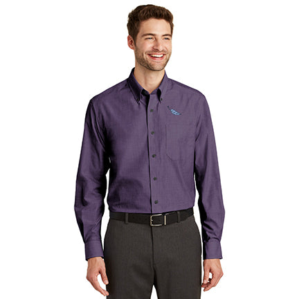 Men's Easy Care Crosshatch Shirt