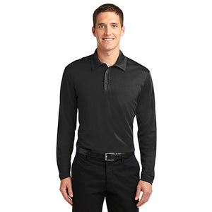 Men's Silk Touch Performance Polo Long Sleeve