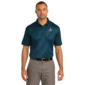 Men's Tech Embossed Polo - WoodSpring Suites