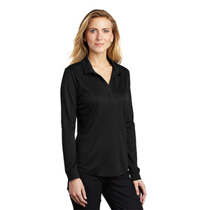 Women's Silk Touch Performance Polo Long Sleeve