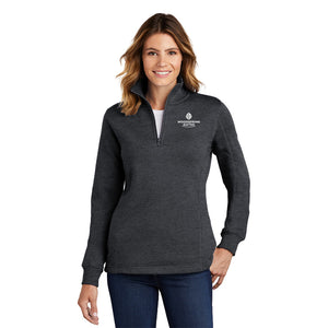 Women's 1/4-Zip Sweatshirt - WoodSpring Suites