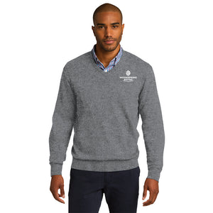 Men's V-Neck Sweater - WoodSpring Suites