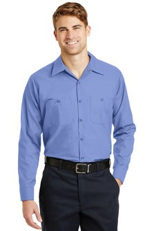 Men's Long Sleeve Industrial Work Shirt - Econo Lodge Inn & Suites