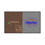 Sleep Inn / Suburban Extended Stay Logo DigiPrint Nylon Mat
