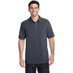 Men's Heather Performance Polo