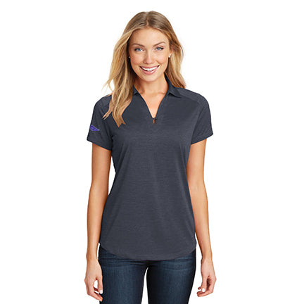 Women's Heather Performance Polo