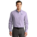 Men's Easy-Care Plaid Poplin
