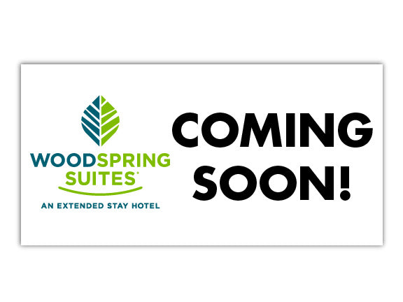 Custom Banner - WoodSpring Suites