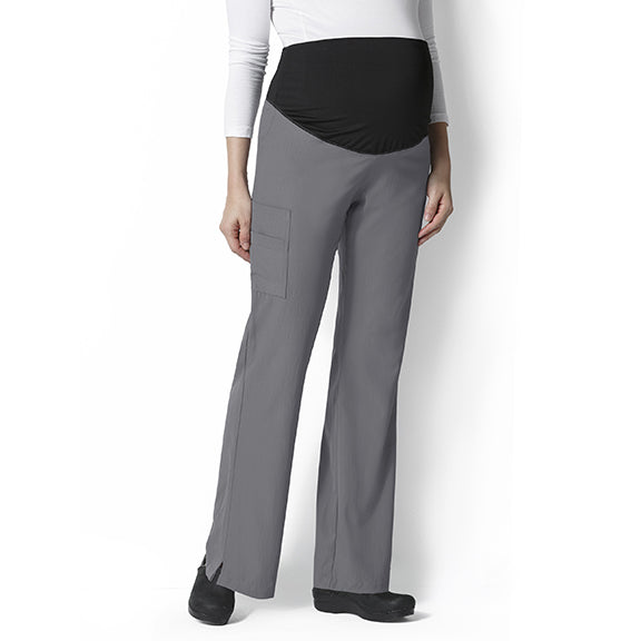 Rodeway Inn Maternity Housekeeping Flare Cargo Pant
