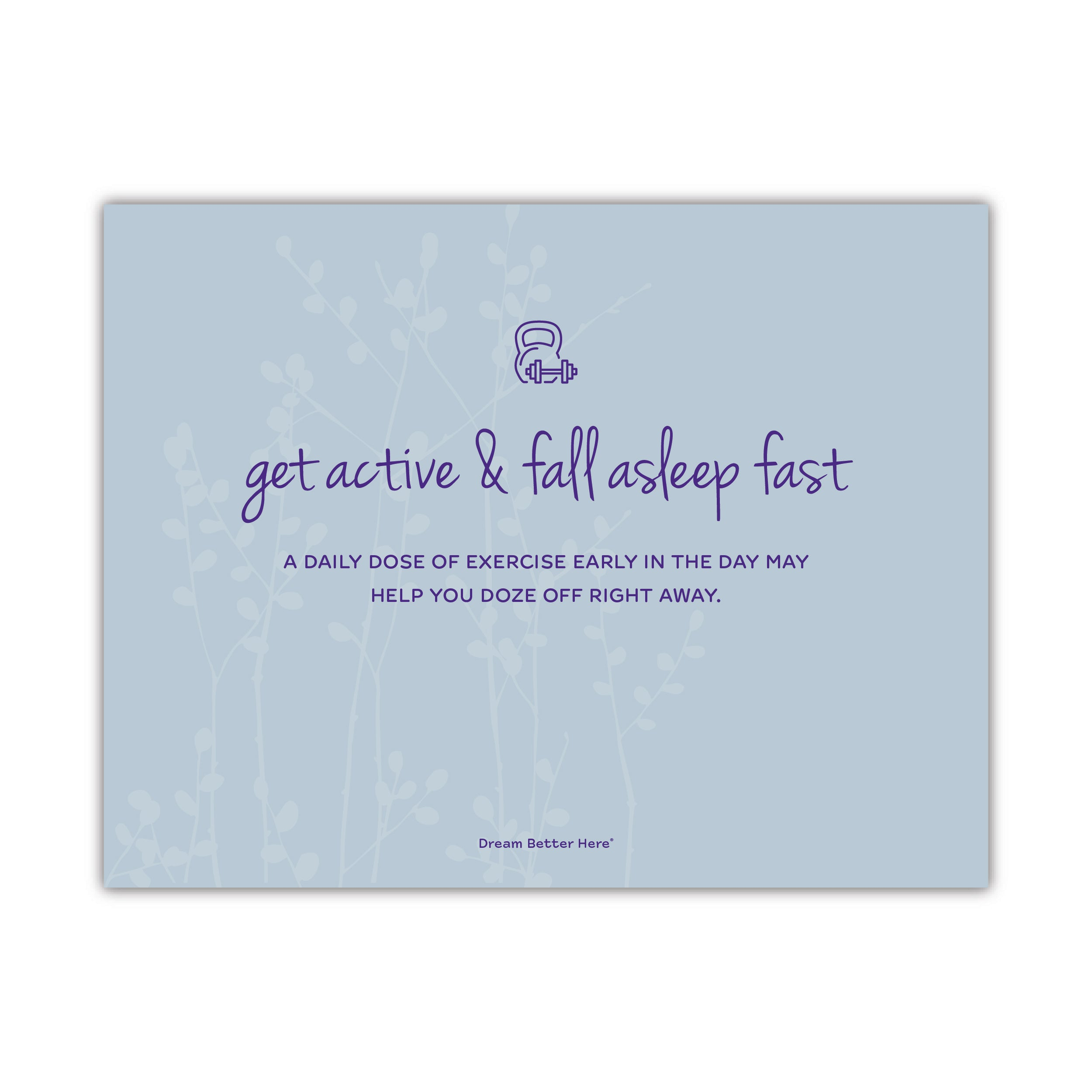 Sleep Dream Tips Lobby Poster (Set of 6)