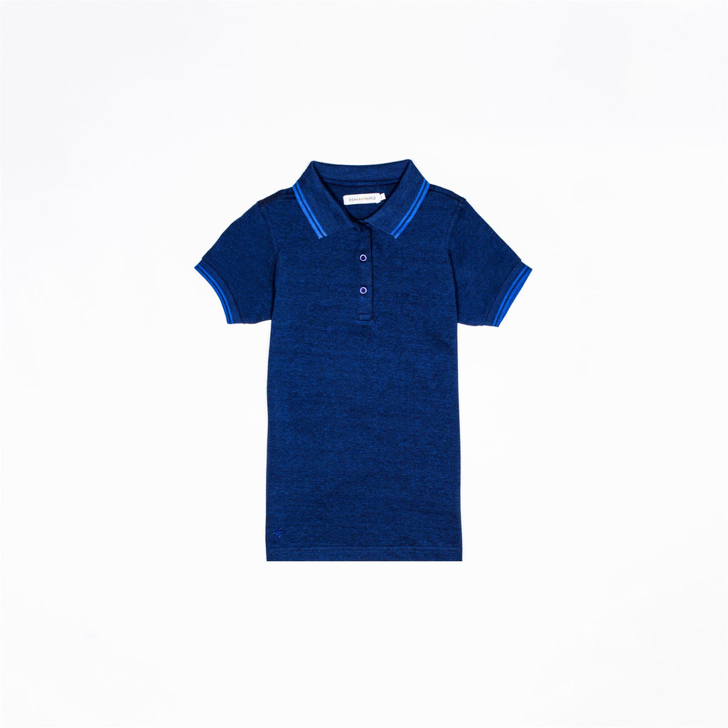 Polo Shirt - Navy/Blue