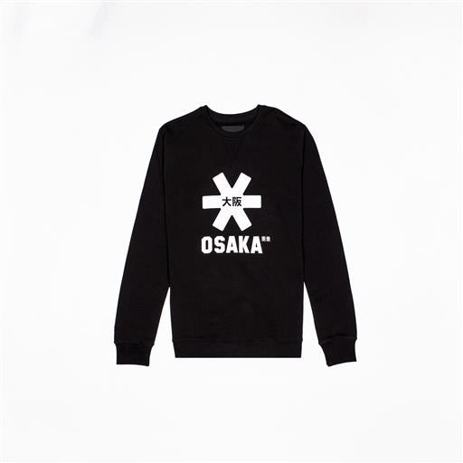 Men White Star Sweater - Black