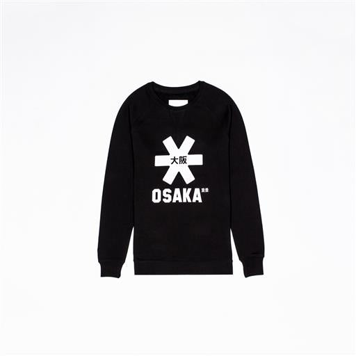 White Star Sweater - Black