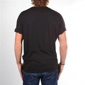 Men Burnout Tee - Black