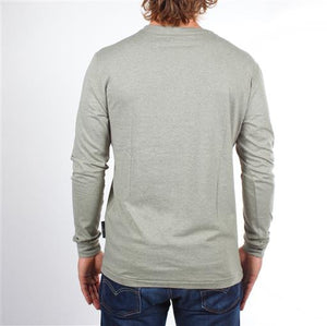 Long Sleeve Henley - Mint
