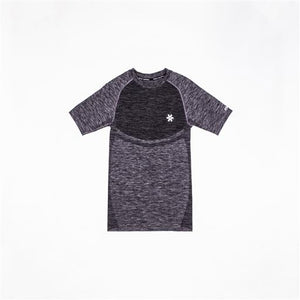 Men's Tech Knit Short Sleeve - Black Melange