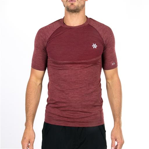 Men's Tech Knit Short Sleeve - Maroon