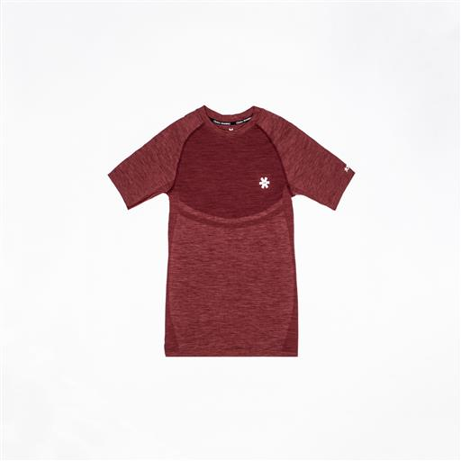 Tech Knit Short Sleeve - Maroon