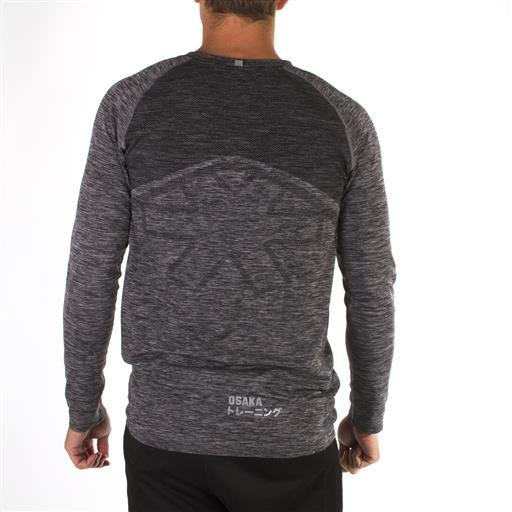 Men's Tech Knit Long Sleeve - Black Melange
