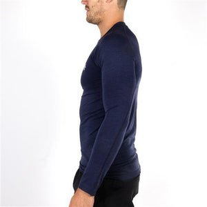 Men's Tech Knit Long Sleeve - Navy