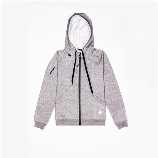 Men Techleisure Zip Hoodie - Grey