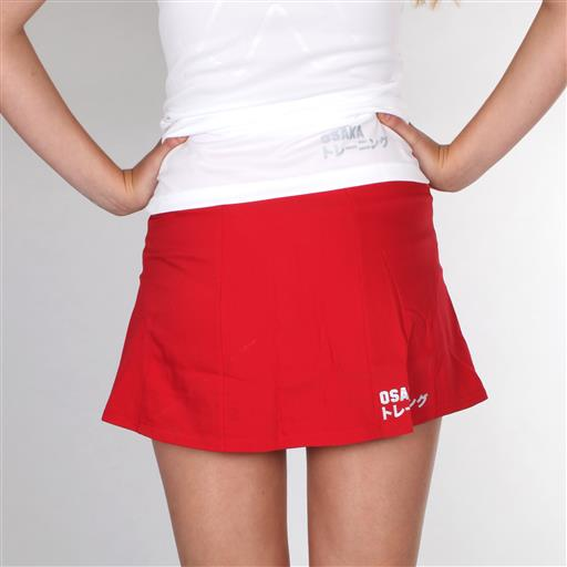 Women Training Skort - Red
